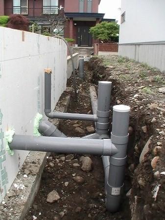 建物屋外排水設備