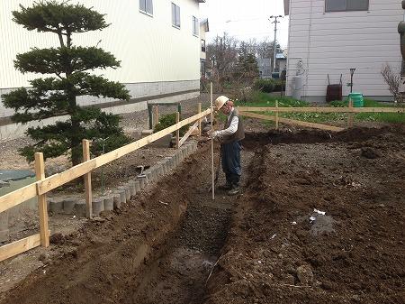 地盤根掘り