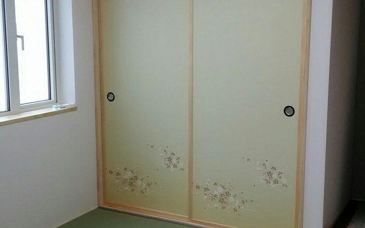 和室完成(旭川近郊の工務店ならミヤザキホーム)