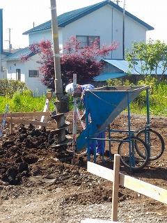 地盤改良工事(旭川近郊の工務店ならミヤザキホーム)