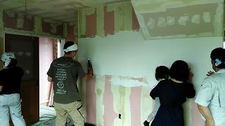 塗り壁体験(旭川近郊の工務店ならミヤザキホーム)