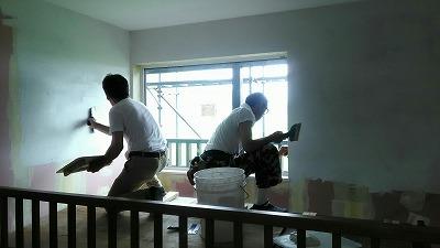 塗り壁(旭川近郊の工務店ならミヤザキホーム)