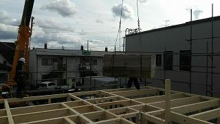 建て方(旭川近郊の工務店ならミヤザキホーム)