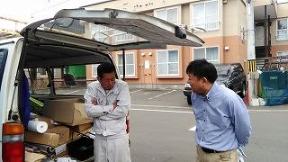 打合せ風景(旭川近郊の工務店ならミヤザキホーム)