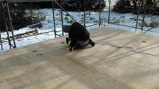 構造用床合板(旭川近郊の工務店ならミヤザキホーム)