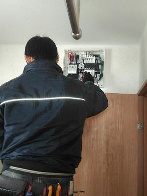 電気・設備工事(旭川近郊の工務店ならミヤザキホーム)