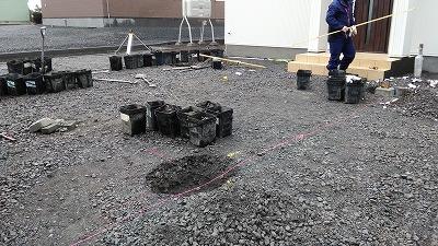 外構工事(旭川近郊の工務店ならミヤザキホーム)