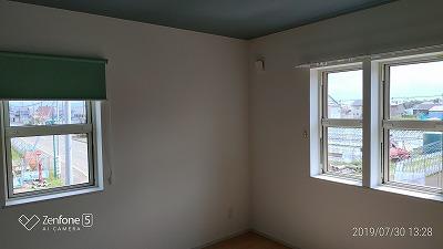 窓装飾取り付け(旭川近郊の工務店ならミヤザキホーム)