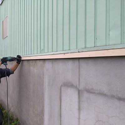 水切り補修(旭川近郊の工務店ならミヤザキホーム)