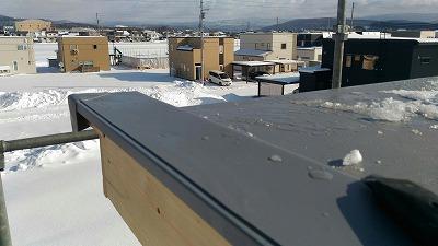 屋根防水シート(旭川近郊の工務店ならミヤザキホーム)