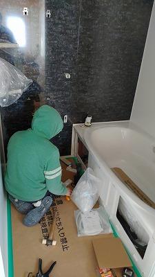 浴室施工(旭川近郊の工務店ならミヤザキホーム)
