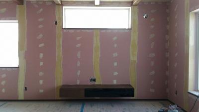 テレビ台 壁取付(旭川近郊の工務店ならミヤザキホーム)
