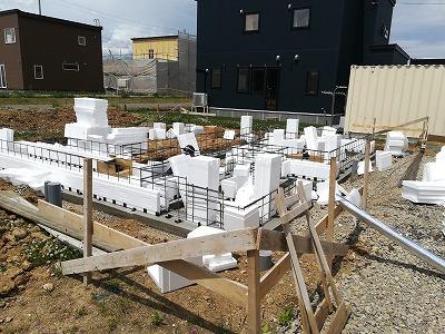 かんたんベース施工(旭川近郊の工務店ならミヤザキホーム)