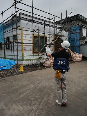JIO外装下地検査(旭川近郊の工務店ならミヤザキホーム)