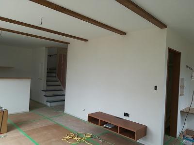 内部塗り壁(旭川近郊の工務店ならミヤザキホーム)