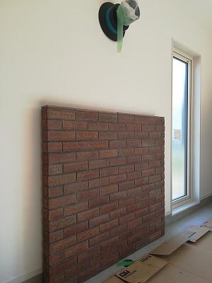 炉壁(旭川近郊の工務店ならミヤザキホーム)