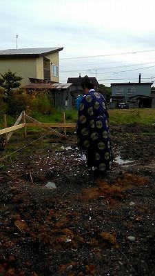 地鎮祭(旭川近郊の工務店ならミヤザキホーム)