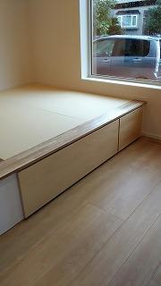 畳設置(旭川近郊の工務店ならミヤザキホーム)