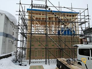 構造用合板(旭川近郊の工務店ならミヤザキホーム)