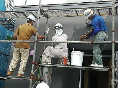 塗り壁仕上げ(旭川近郊の工務店ならミヤザキホーム)